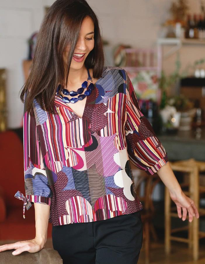 Vêtements femmes grandes tailles, robes, blouse, chemisier, t-shirt top,  tailleur   Christine Laure pour femme   Christine Laure